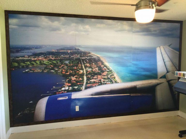 Palm Beach Aerial Shot