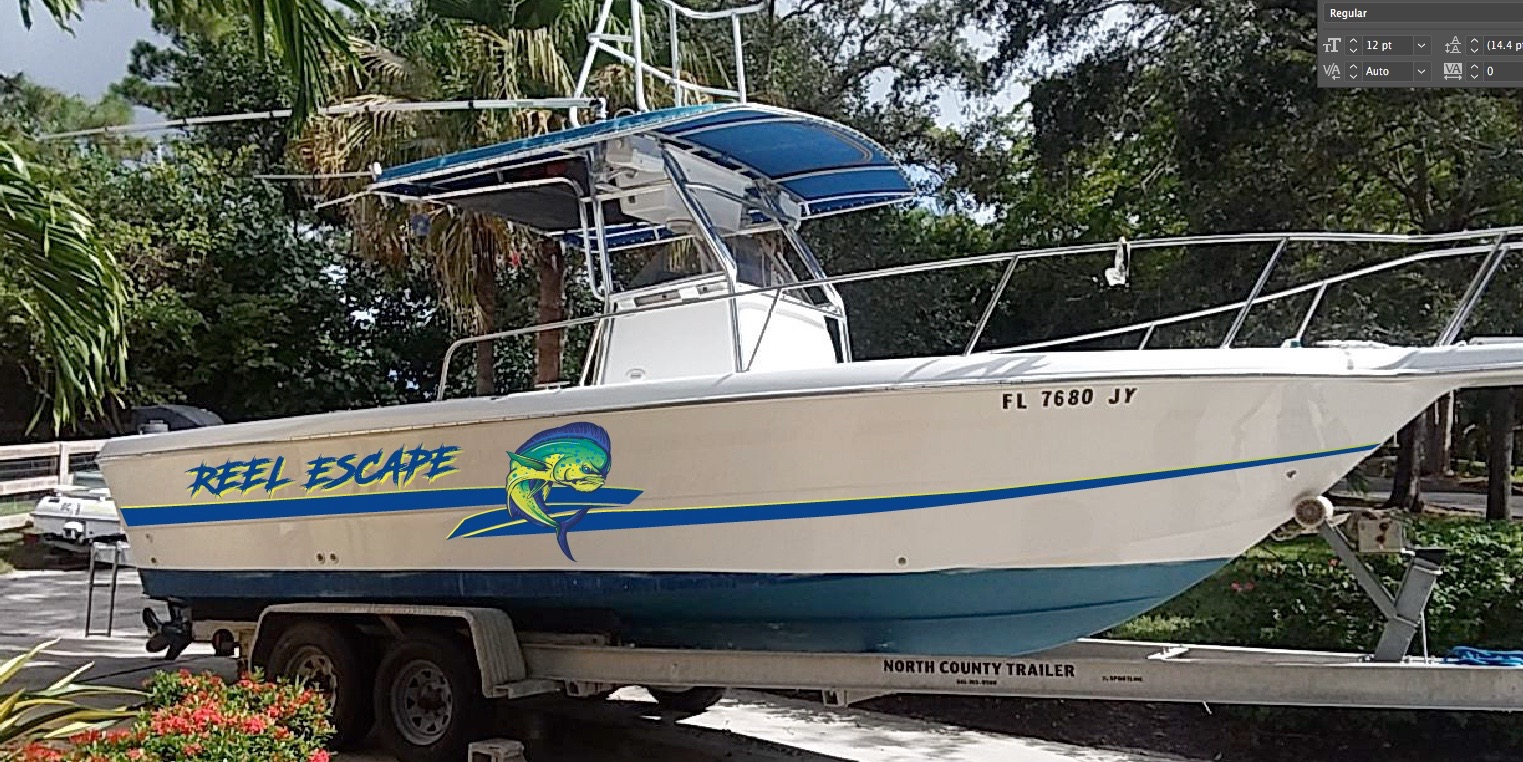 Boat Wraps Boat Graphics Crd Wraps West Palm Beach Fl