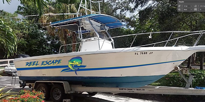 Boat wraps boat graphics crd wraps west palm beach fl for Port motors west palm beach