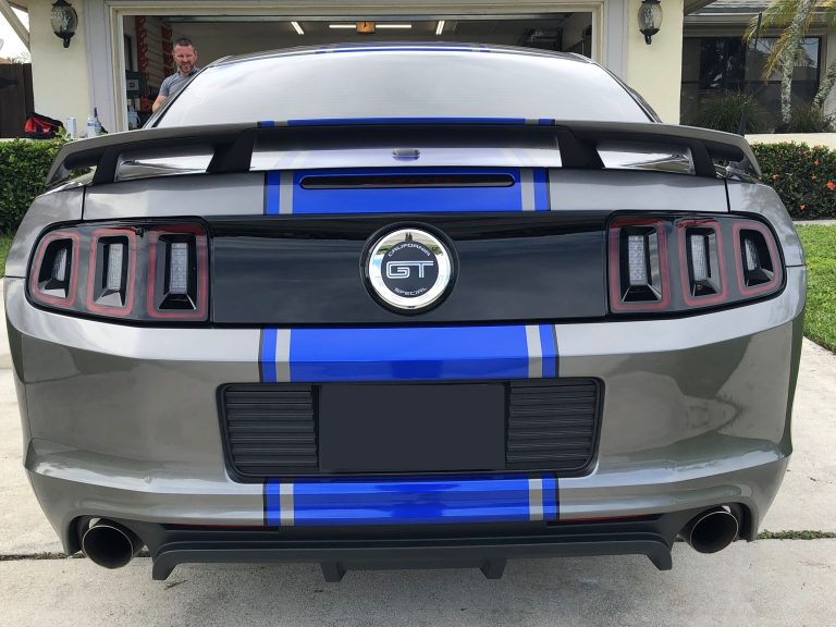 Ford Mustang Stripes