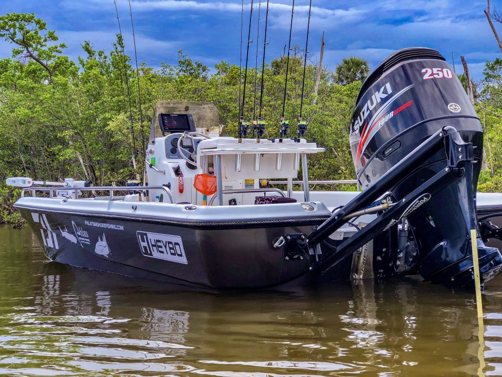 23' Flats Boat – Tournament/Sponsorship Wrap