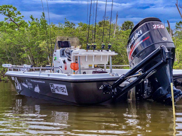 23' Flats Boat – Tournament/Sponsorship Wrap