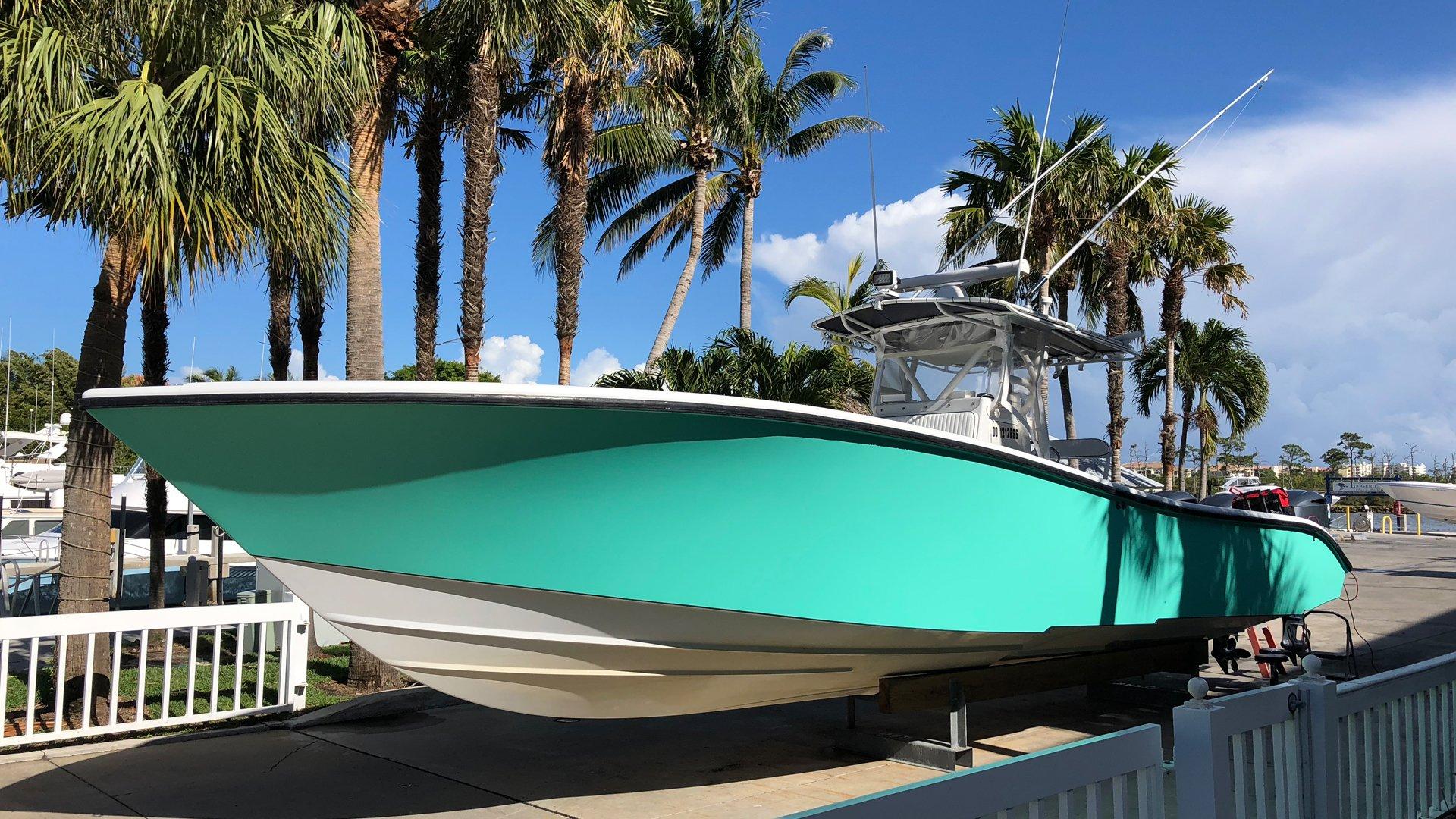 CRDWraps.com Boat Wrap West Palm Beach