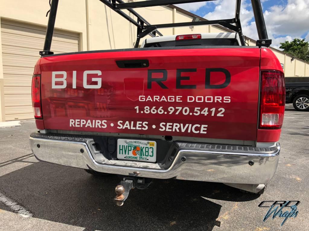 Big Red Garage Doors