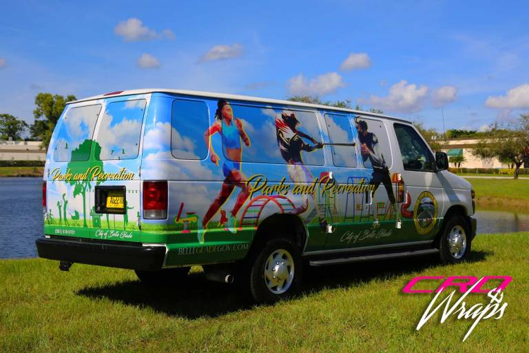 Van Wrap – Customized for the Parks and Recreation Division