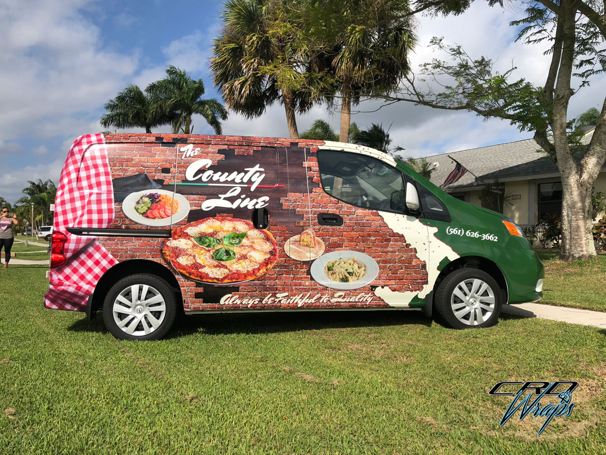 Commercial Wrap, Van Wrap