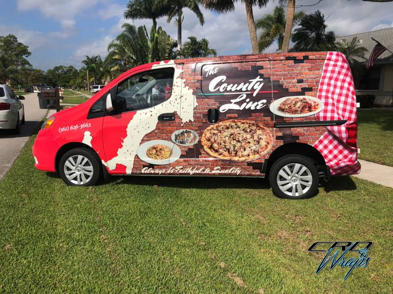 Commercial Van Wrap – Design, Print and Installation