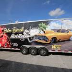 Custom 32' Race Trailer Wrap