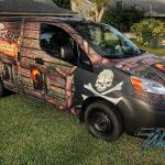 Pirate Life - Custom Design and Full Commercial Wrap