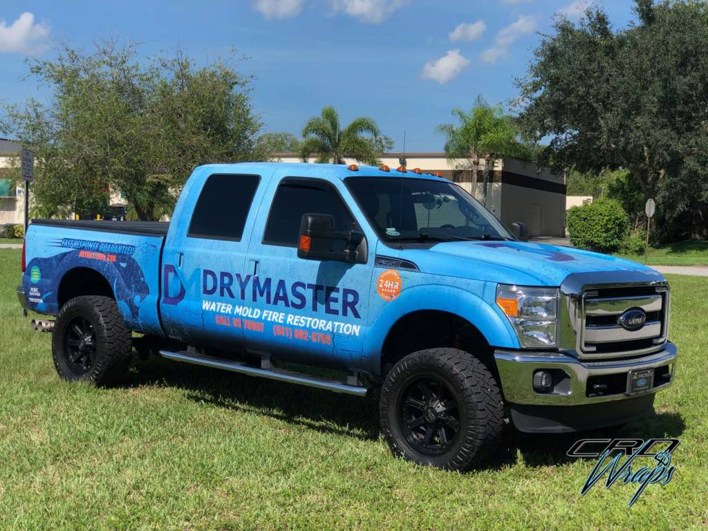 Full Commercial Truck Wrap in West Palm Beach