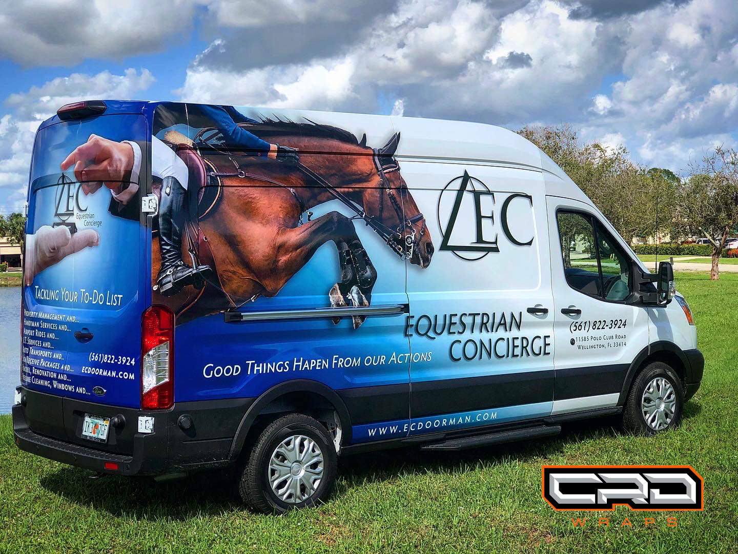 3/4 Commercial Wrap