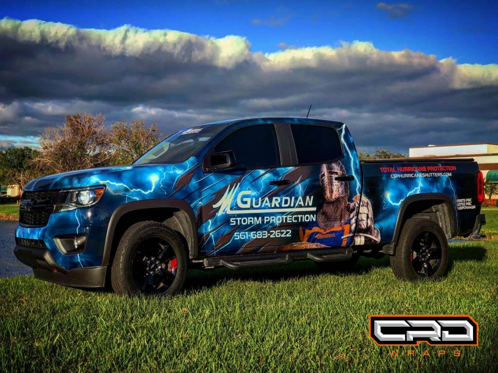 Personal Commercial Truck Wrap