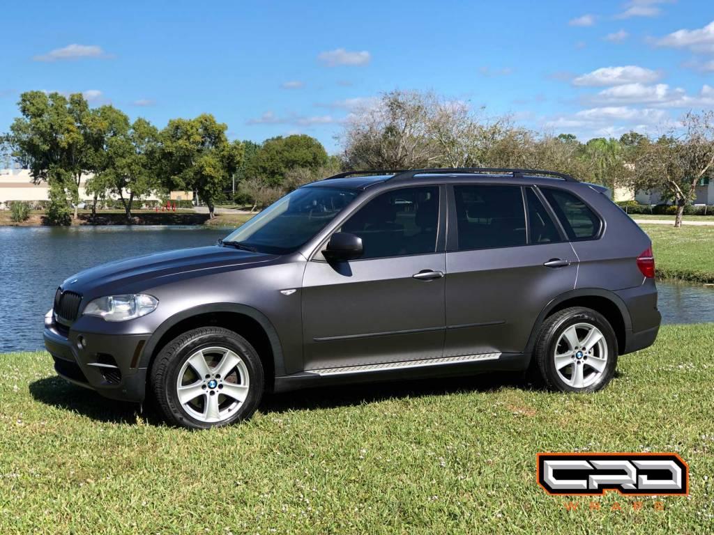 BMW X5 Color Change Wrap at CRD Wraps West Palm Beach